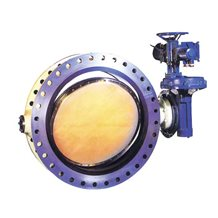 Ebonite Lined Butterfly Valve