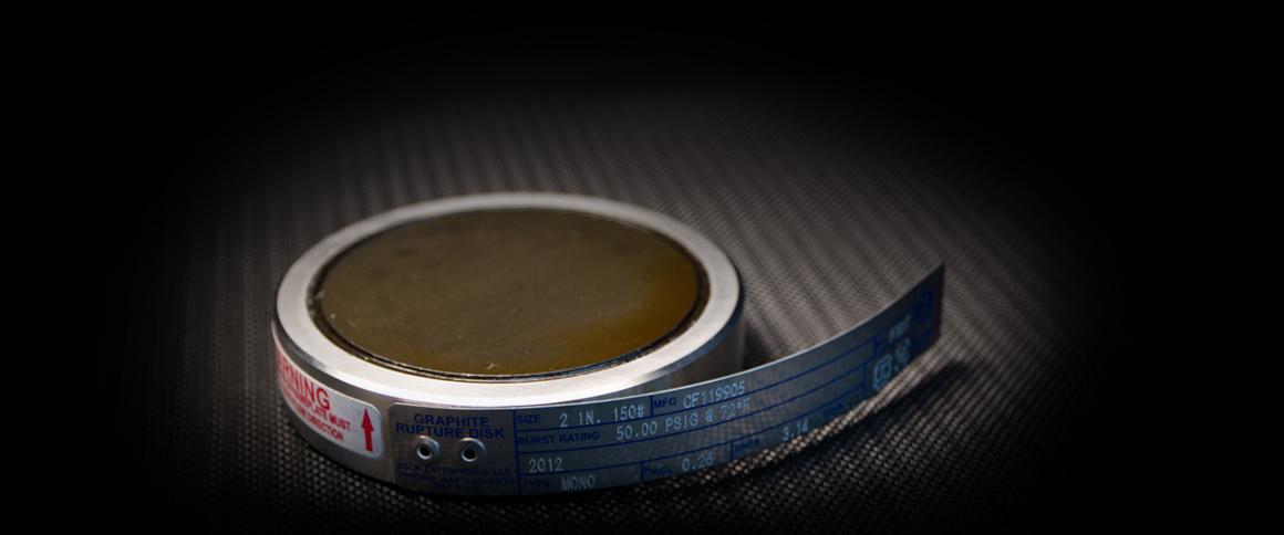 Graphite Rupture Discs